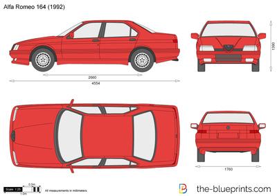 Alfa Romeo 164 (1992)