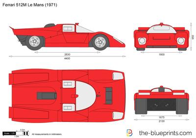 Ferrari 512M Le Mans