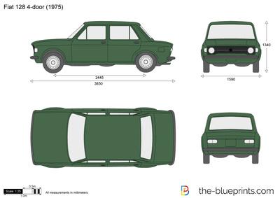 Fiat 128 4-door (1975)