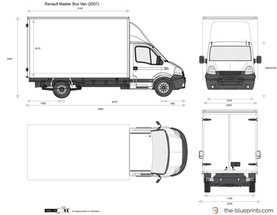 Renault Master Box Van
