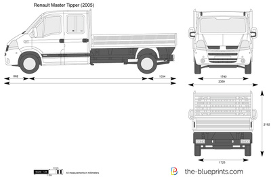 Renault Master Tipper