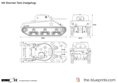 M4 Sherman Tank (Hedgehog)