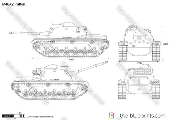M48A2 Patton