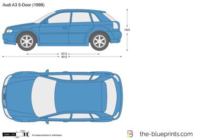 Audi A3 5-Door (1998)