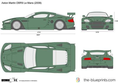 Aston Martin DBR9 Le Mans (2008)