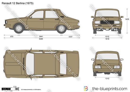 Renault 12 Berlina