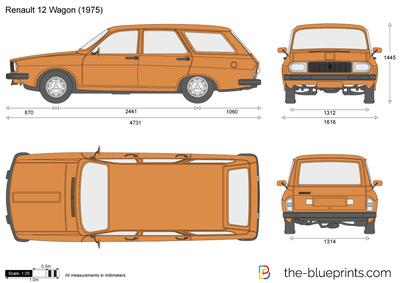 Renault 12 Wagon (1975)