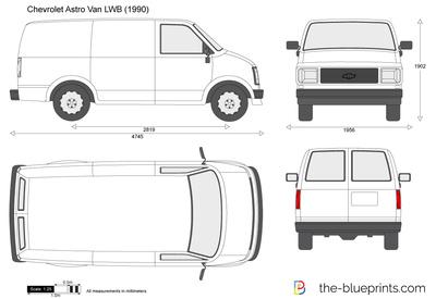 Chevrolet Astro Van LWB (1990)