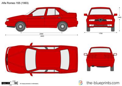 Alfa Romeo 155 (1993)