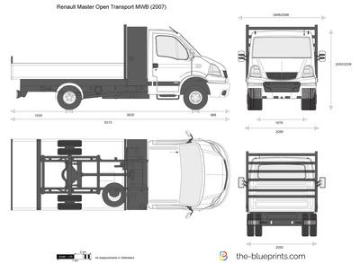 Renault Master Open Transport MWB