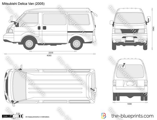 Mitsubishi Delica Van