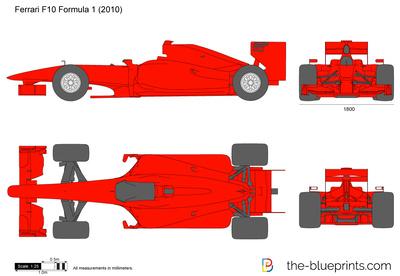 Ferrari F10 Formula 1