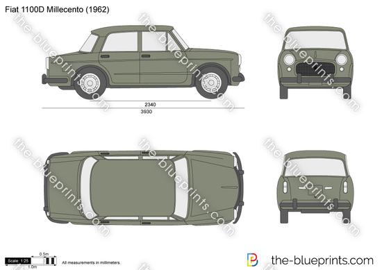 Fiat 1100D Millecento