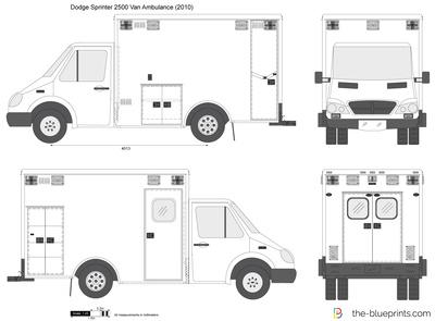 Dodge Sprinter 2500 Van Ambulance