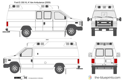 Ford E-350 XL K Van Ambulance