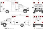 Ford E-450 Type III Ambulance