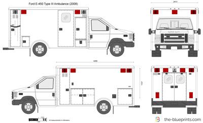 Ford E-450 Type III Ambulance
