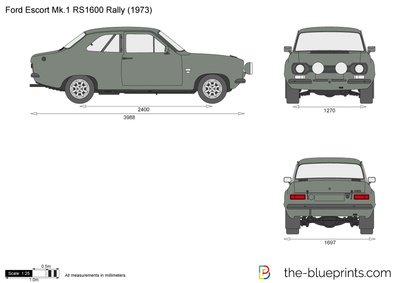 Ford Escort Mk.1 RS1600 Rally