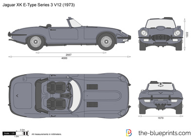 Jaguar XK E-Type Series 3 V12