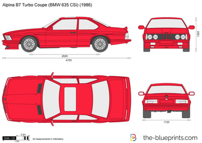 Alpina B7 Turbo Coupe (BMW 635 CSi)
