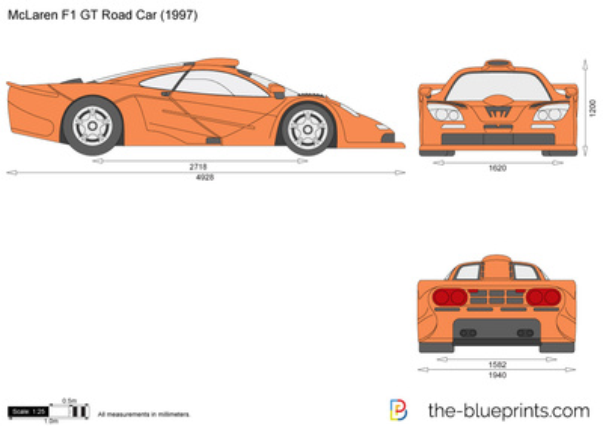 McLaren F1 GT Road Car
