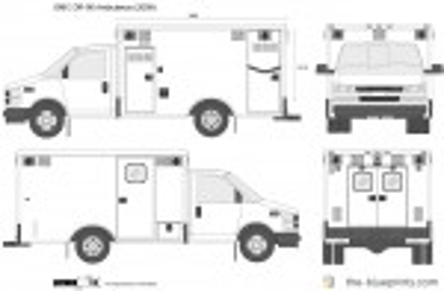 GMC DR-90 Ambulance