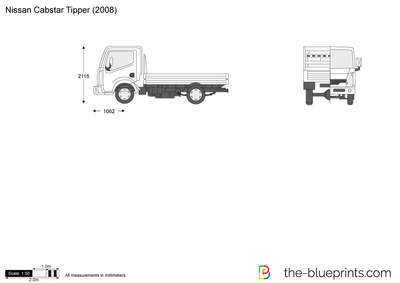 Nissan Cabstar Tipper