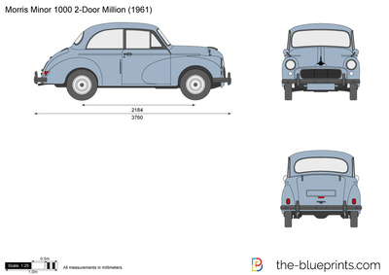Morris Minor 1000 2-Door Million