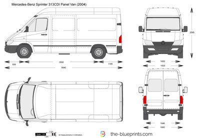 Mercedes Benz sprinter 313cdi panel van on mercedes benz 500