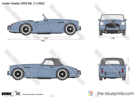Austin Healey 3000 Mk. II