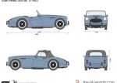 Austin Healey 3000 Mk. II (1962)