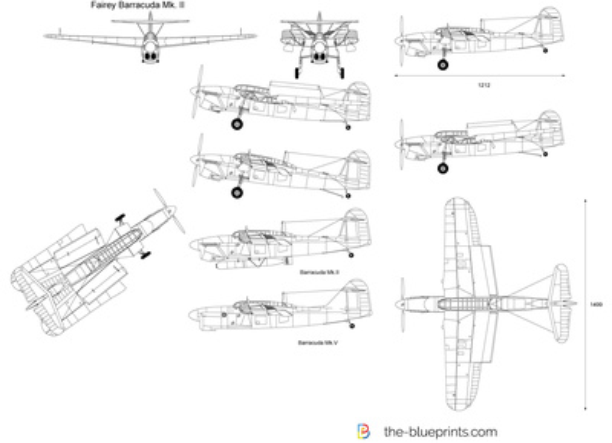 Fairey Barracuda Mk. II