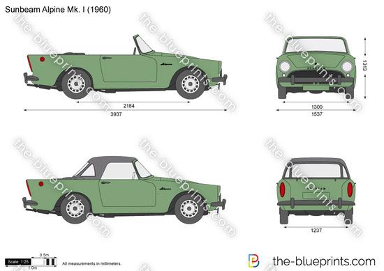 Sunbeam Alpine Mk. I
