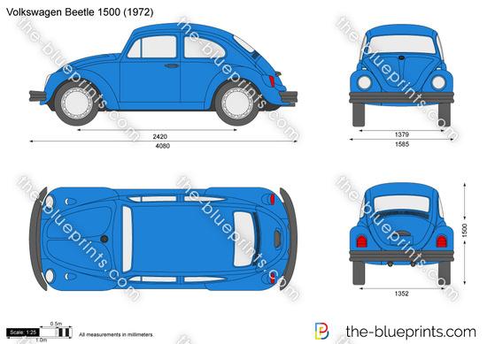 Volkswagen Beetle 1500
