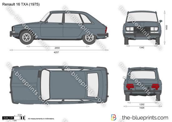 Renault 16 TXA