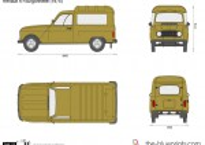 Renault 4 Fourgonnette (1975)