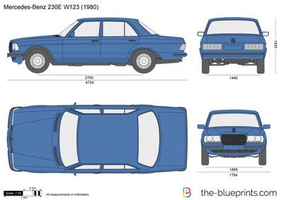Mercedes-Benz 230E W123 (1980)