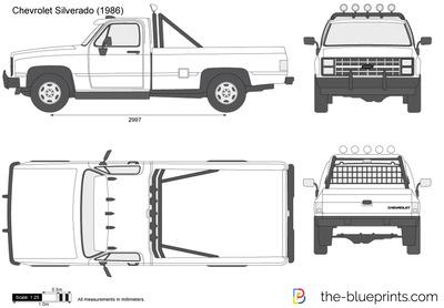 Chevrolet Silverado (1986)