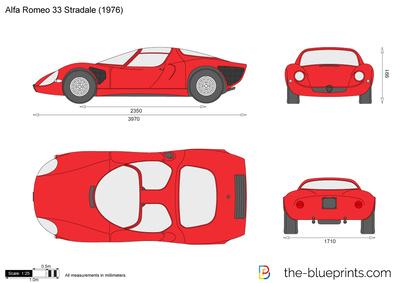 Alfa Romeo 33 Stradale (1976)