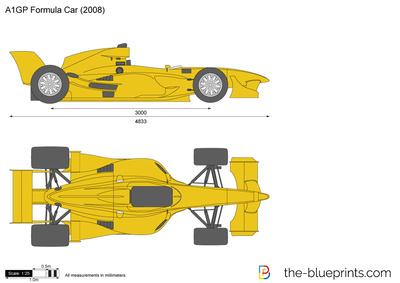 A1GP Formula Car (2008)