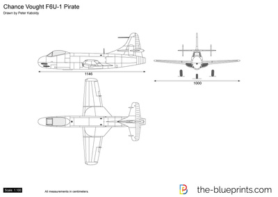 Chance Vought F6U-1 Pirate