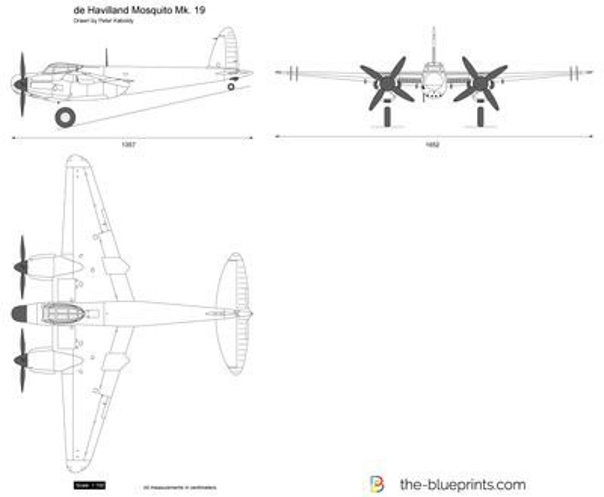 de Havilland Mosquito Mk. 19