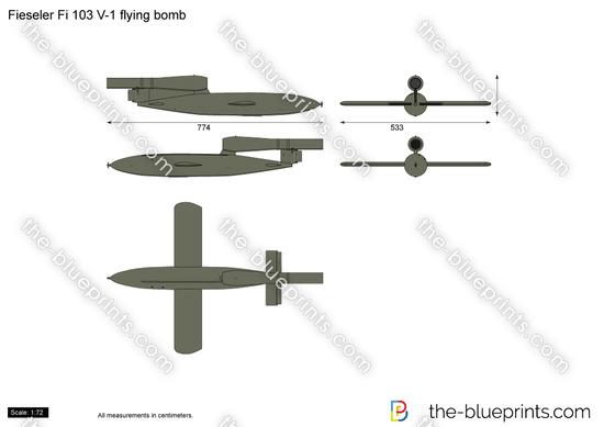 Fieseler Fi 103 V-1 Flying Bomb