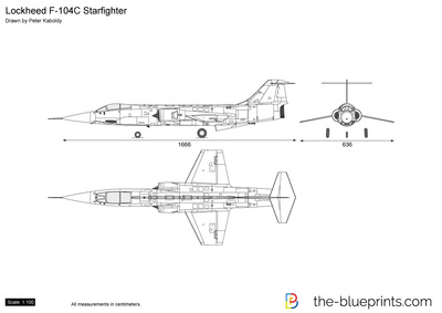Lockheed F-104C Starfighter