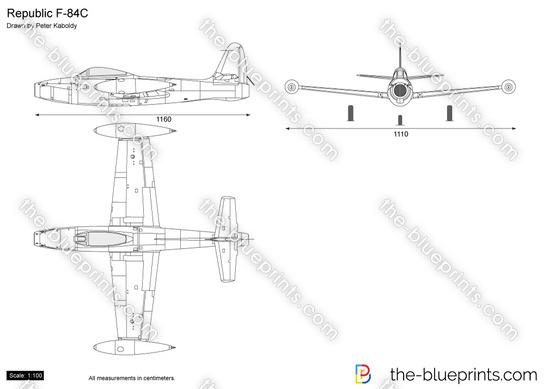 Republic F-84C