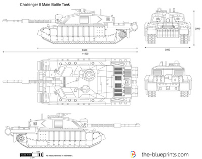 Challenger II Main Battle Tank
