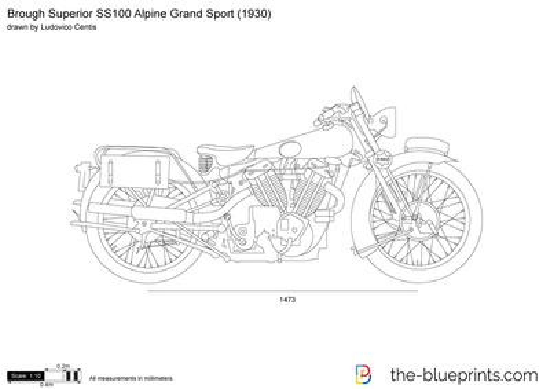 Brough Superior SS100 Alpine Grand Sport