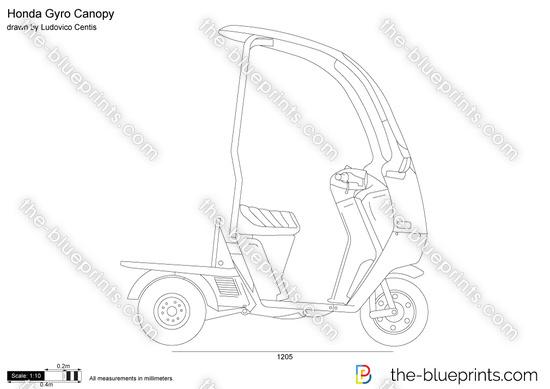 Honda Gyro Canopy