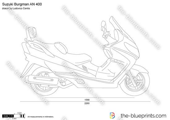 Suzuki Burgman AN 400