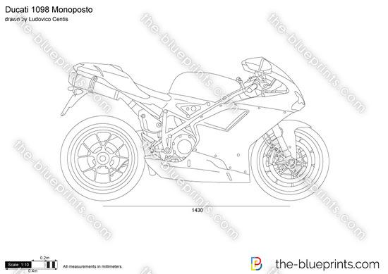 Ducati 1098 Monoposto